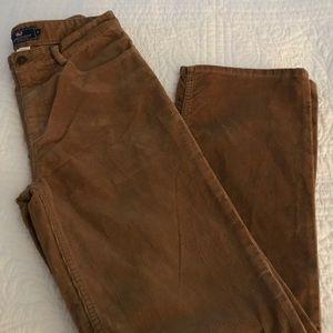 Vineyard Vines Brown 5 Pocket Corduroy Jean Sz 18